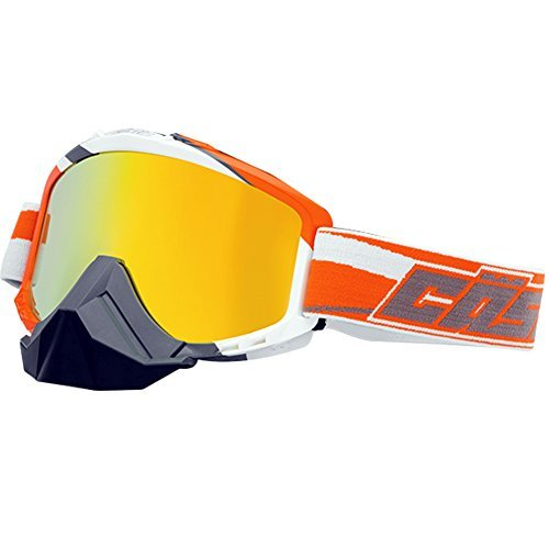 Castle Force SE X2 Snowmobile Goggles-Orange by Castle X