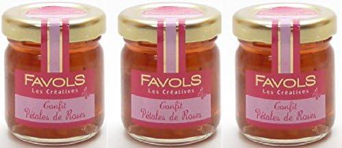 ファヴォルス バラの花びらのジャム 42g×3