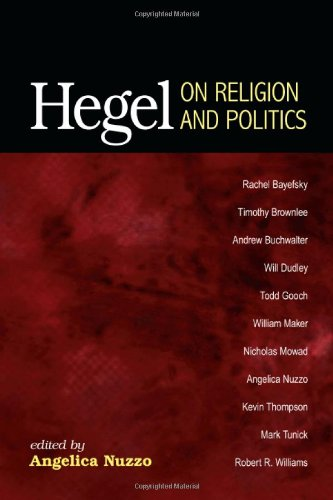 Hegel on Religion and Politics pdf