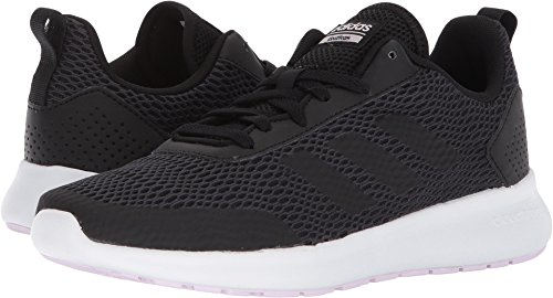 adidas Performance Women's Element Race Running Shoe, Black/Carbon/Aero Pink, 7.5 M US