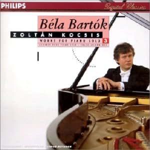 Bela Bartok Zoltan Kocsis Bartok Works For Piano Solo