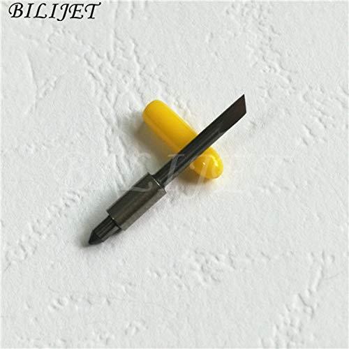 Printer Parts Cutting Plotter Spare Parts Mix Order 30/45/60 Degree Graphtec CB15 Blade Big icontek CB15U Paper Cutter Knife 10pcs +1pc Holder - (Color: 30 Degree) by Yoton (Image #2)