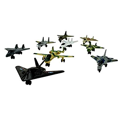Giant US Navy Toy Aircraft Carrier 31 with 6 Modern Diecast Airplanes