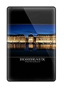 Durable Bordeaux Back Case/cover For Ipad Mini/mini 2