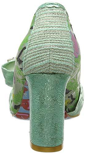 Chiusa Green Irregular Punta Col mint Donna Borneo C Tacco Choice Scarpe rPaP8YOgq