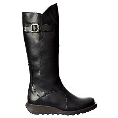 Fly London Women's Mol Warm Wedge Boots 3