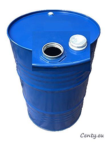 200 Liter Metallfass Spund innen unlackiert Smoker Stahlfass Ölfass Feuertonne Behälter Tonne Blechfass Stehtisch Sezai Sari