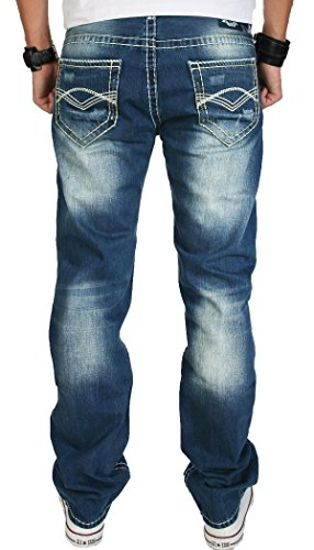 Cuciture Designer Creek Rock Rc 2056 Spessi Jeans Blu zSHwAn