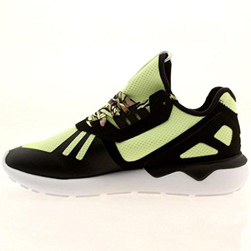Adidas Men Tubular Runner (black / ltflye / ftwwht)-13.0