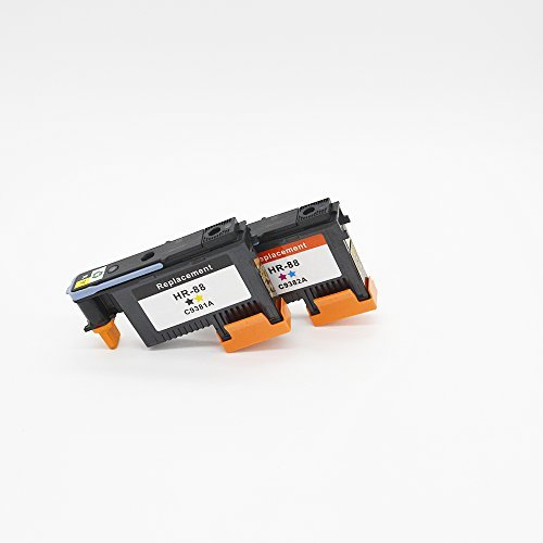 Color Pro Officejet K550 (ZL Compatible Ink Cartridge Replacement for HP 88 Printhead C9381A C9382A For HP Officejet Pro K550 K550dtn K55dtwm K5300 K5400 K5400tn K5400dn K5400dtn)