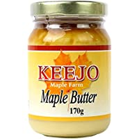 Chef's Choice 100 Percent Pure Maple Butter Glass Jar, 170 g