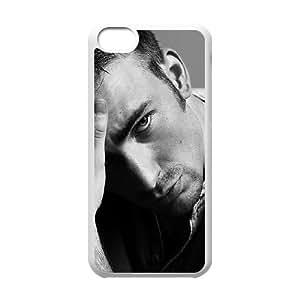 iPhone 5c Cell Phone Case White Chris Evans Lgqli