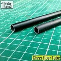 6mm x 4mm Glass Fiber / Fibre Tube (2 Pcs) Lenght-1000mm