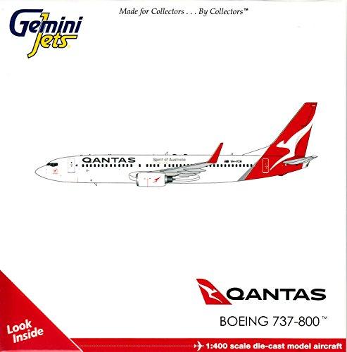 Gemini Jets Qantas Airways B787-800 VH-Vxm 1:400 Scale Model Airplane Die Cast Aircraft (Vh Qantas)