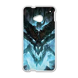 Protection Cover Qvffh HTC One M7 Cell Phone Case White world of warcraft game Protection Cover