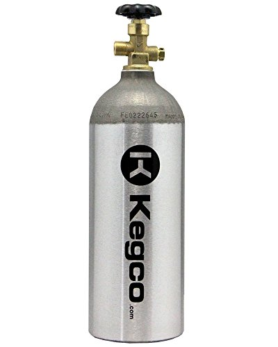 5 lb. Aluminum Co2 Tank Compressed Gas Air Cylinder]()