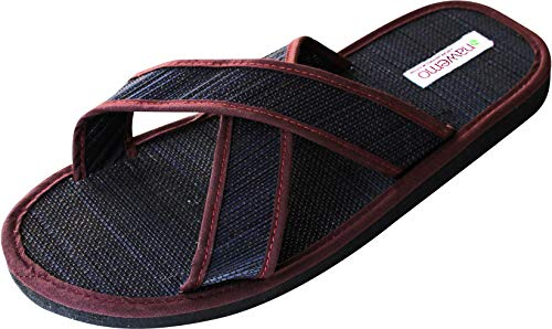 Pantofole marrone Nero Donna Nawemo Marrone dXqR8Ewn