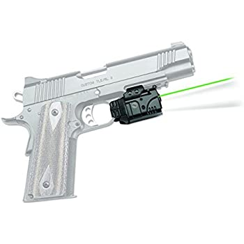 Crimson Trace CMR-204 Rail Master Pro Universal Green Laser & Tactical Light