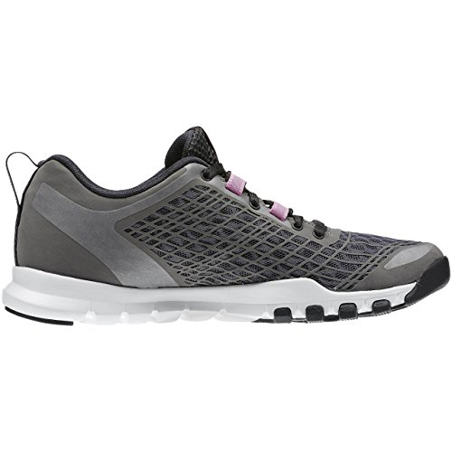 iconopink bianco ash Scarpe Everchill rosa nero Grigio Train Da white Fitness Grey coal Donna Reebok pAqaS