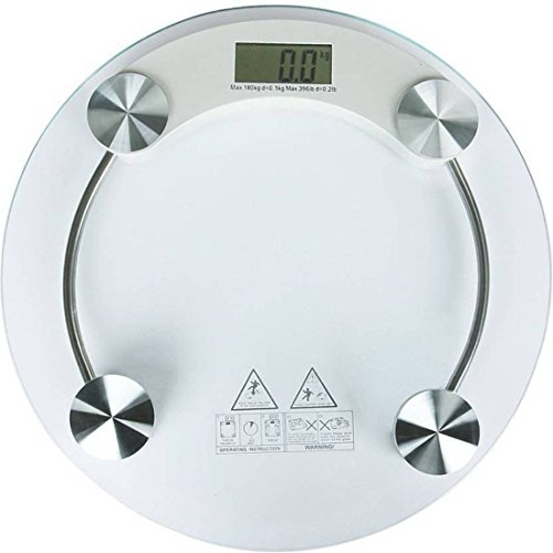 Majron Personal Bathroom Body Weight Machine Digital Weighing Scale (White) (B07TQJRT8Q) Amazon Price History, Amazon Price Tracker