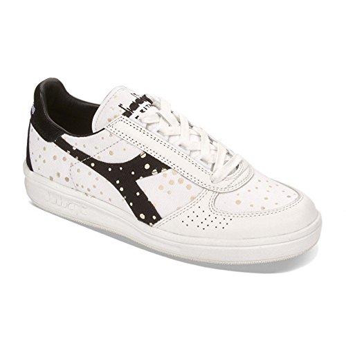 Diadora Heritage - B.Elite W Dots Nero/Bianco - Sneakers Donna