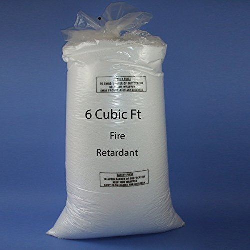Bean Bag Booster Refill Polystyrene Beads Filling Top Up Bag Beans Balls 6 cubic feet Westminster