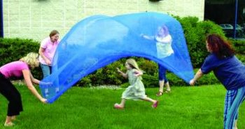 Scarf Canopy, 9′ X 9′, Royal Blue Review