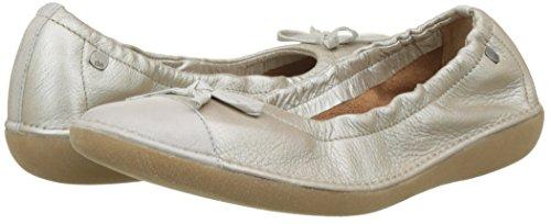 305 Ballet Mingos Ivoire Women's tan Flats Métallisée Closed Toe Tbs qzYIxgw5q