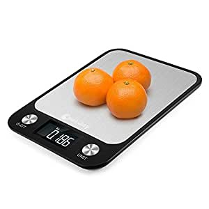 Digital Kitchen Scale, COOKJOY 10kg / 1g Kitchen Scale for Multipurpose, Portable Food Scale with LCD Backlight Display, Digital Food Weight Scale for Food and Baking