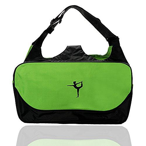 Yoga Mat Bag,Lightweight Yoga Mat Tote Sling Carrier Large Pocket Large Functional Storage Pockets