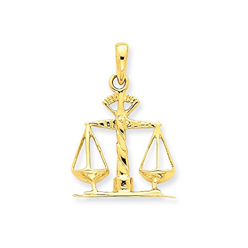 Scales 14k (14k Scales of Justice Pendant)