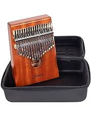 FXMHKL Kalimba (Natural) - Ahşap 17 Tuşlu başparmak piyanosu Fenix
