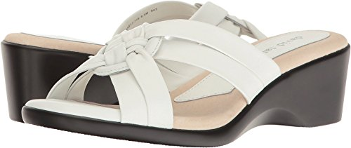(David Tate Women's Verona White Lamb 8.5 D)