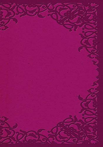 Fuchsia Colored Paper Notebook -- Creative Journal: LINED, College Ruled, 7x10, Cream Paper, 184 Pages