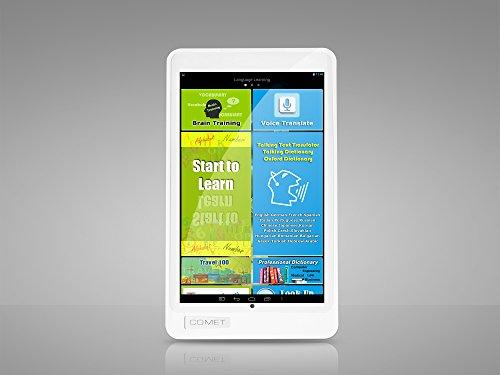 Comet V73: Tablet-PC, Sprachtrainer und Übersetzer für 20 Sprachen (Eurasien, Indien & Weltsprachen), mit Spracheingabe und Sprachausgabe
