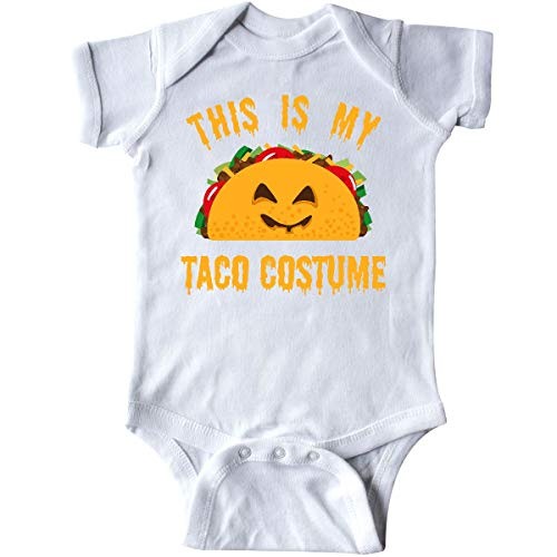 inktastic Taco Costume Infant Creeper 6 Months White ()