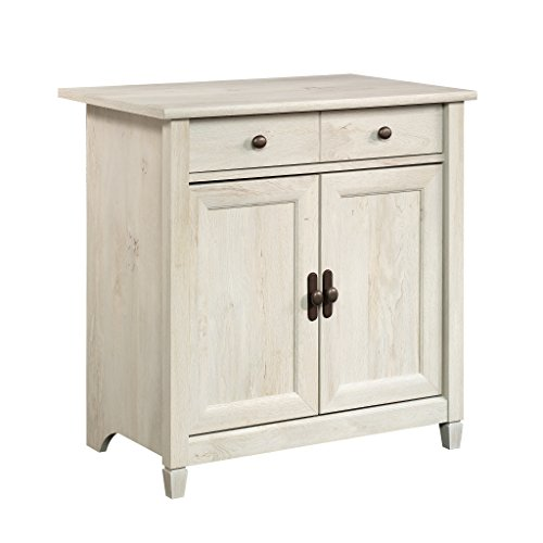 Sauder 418794 Looking Utility Cart/Stand, Chalked Chestnut
