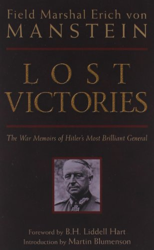 Used, Lost Victories: The War Memoirs of Hilter's Most Brilliant for sale  Delivered anywhere in Canada