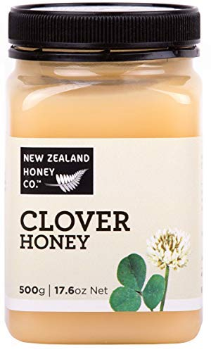 - New Zealand Honey Co. White Clover Honey | 17.6oz / 500g | Delicious Creamed Honey from the Remote Wild South Island Region | Non GMO, No Antibiotics, No Additives, Quality Guaranteed