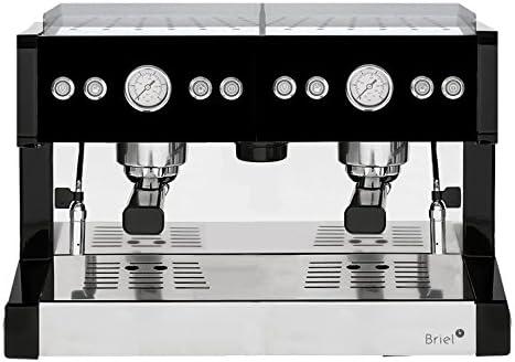 Briel DES228E - Cafetera de espresso manual, color plateado ...