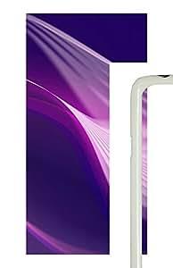 Samsung Galaxy S5 Patterns Purple Swirl PC Custom Samsung Galaxy S5 Case Cover White