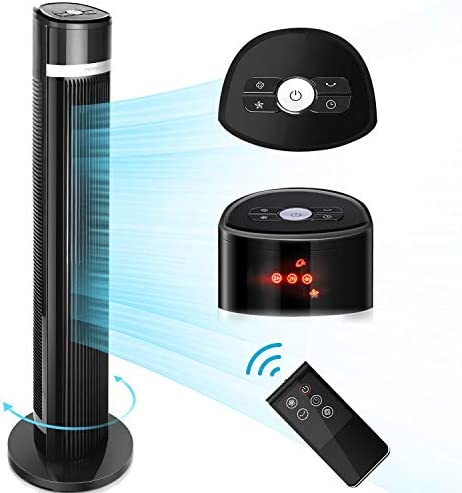 Ventilador Para Suelo Aigostar Ross ? Ventilador de Torre Digital