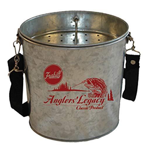 Wade Bucket - Frabill Galvanized Wade Bucket - 2 Quart