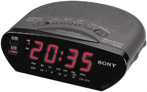SONY ICF-C211-BLK AM FM Clock Radio Discontinued by Manufacturer