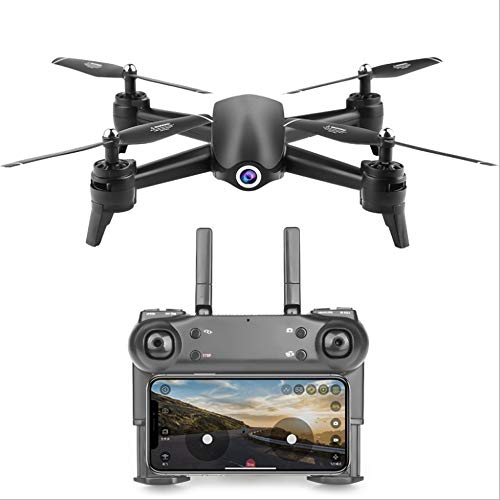 WHWYY Foldable WiFi FPV Drone with 120°Wide-Angle 1080P HD Camera Live Video RC Quadcopter with 25 Min Long Flight Time/Altitude Hold/Trajectory Flight/One Key Start/Landing/App Control