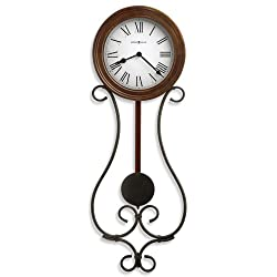 Yvonne Quartz Wall Clock in Americana Cherry<br> Howard Miller 625400