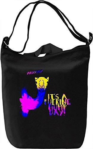 Hump Day Borsa Giornaliera Canvas Canvas Day Bag| 100% Premium Cotton Canvas| DTG Printing|