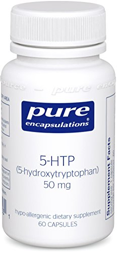 Pure Encapsulations – 5-HTP (5-Hydroxytryptophan) 50 mg – Hypoallergenic Dietary Supplement – 60 Capsules