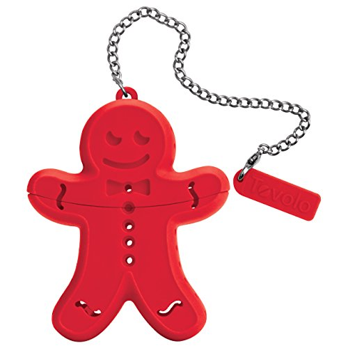 Tovolo Tea Infuser, Gingerbread by Tovolo