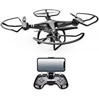 x8 2.4G RC Quadcopter Electricity Adjustment 0.3MP HD Camera RC Drone FPV Gift (black, 1Set)